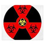 Radioactive Bio-hazard Extreme King Duvet