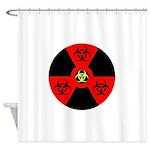 Radioactive Bio-hazard Extreme Shower Curtain