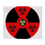 Radioactive Bio-hazard Extreme Throw Blanket