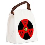 Radioactive Bio-hazard Extreme Canvas Lunch Bag