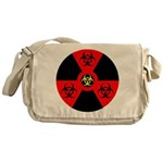 Radioactive Bio-hazard Extreme Messenger Bag
