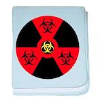 Radioactive Bio-hazard Extreme baby blanket