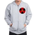 Radioactive Bio-hazard Extreme Zip Hoodie