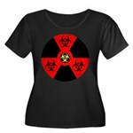 Radioactive Bio-hazard Extreme Plus Size T-Shirt