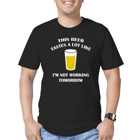 This Beer Tastes A Lot Like Men's Fitted T-Shirt (