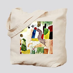 Klee - Pathetic Water Color, Red Tote Bag