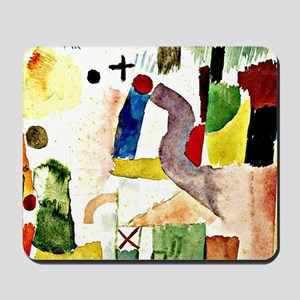 Klee - Pathetic Water Color, Red Mousepad