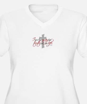 Cute Jesus the way and the truth and the life T-Shirt
