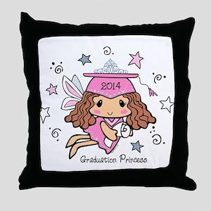 Graduation Princess 2014 Throw Pillow