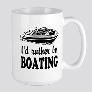 Id rather be boating Mugs