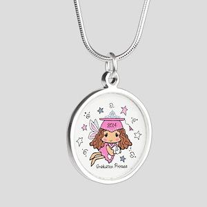 Graduation Princess 2014 Silver Round Necklace