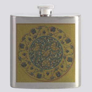 Harvest Moons Black Roses Flask