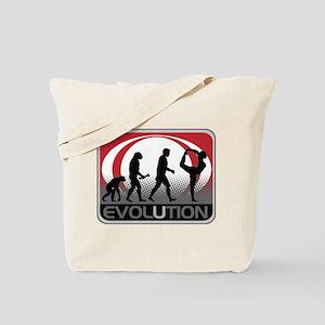 Evolution Yoga Tote Bag