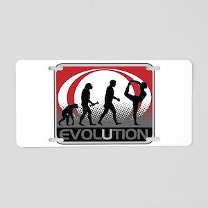 Evolution Yoga Aluminum License Plate