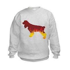 Cocker Flames Sweatshirt