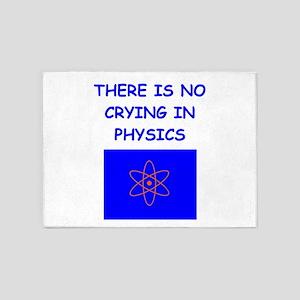 physics 5'x7'Area Rug