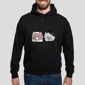 Cat Wedding Couple Cn557 Sweatshirt