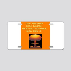 engineering Aluminum License Plate