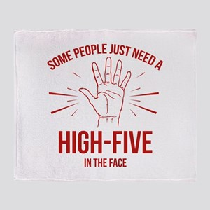 Some People Just Need A High-Five Stadium Blanket