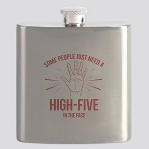 Some People Just Need A High-Five Flask