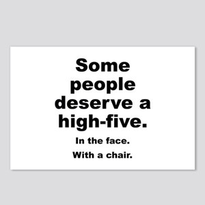 Some People Deserve A High-Five Postcards (Package