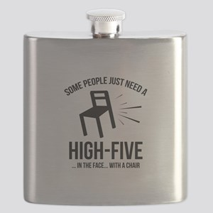 Some People Deserve A High-Five Flask