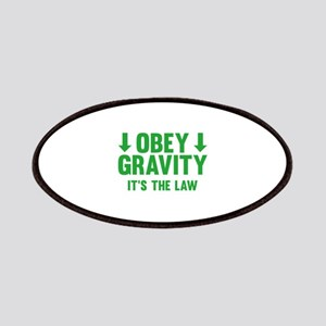 Obey Gravity. It's The Law. Patches