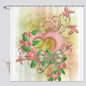 Hearts Ease Shower Curtain