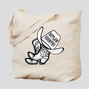 Outlaw Country Tote Bag