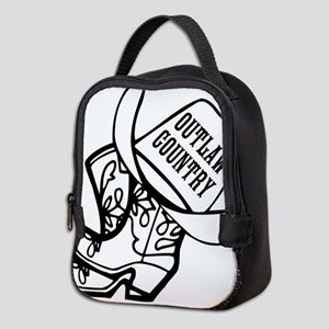 Outlaw Country Neoprene Lunch Bag