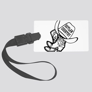 Outlaw Country Luggage Tag