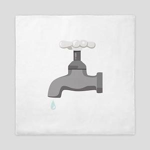 Water Faucet Queen Duvet