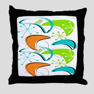 Atomic Era Inspired Throw Pillow