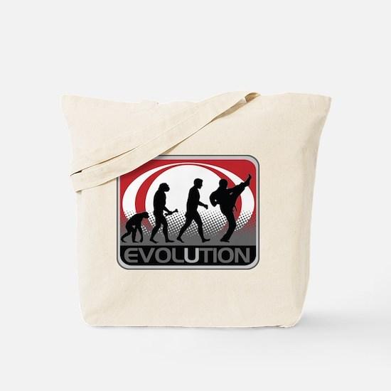 Evolution Martial Arts Tote Bag