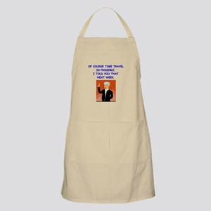 time travel Apron