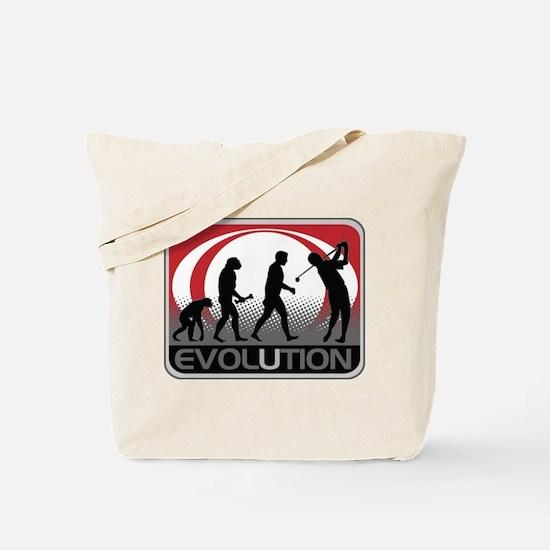 Evolution Golfer Tote Bag