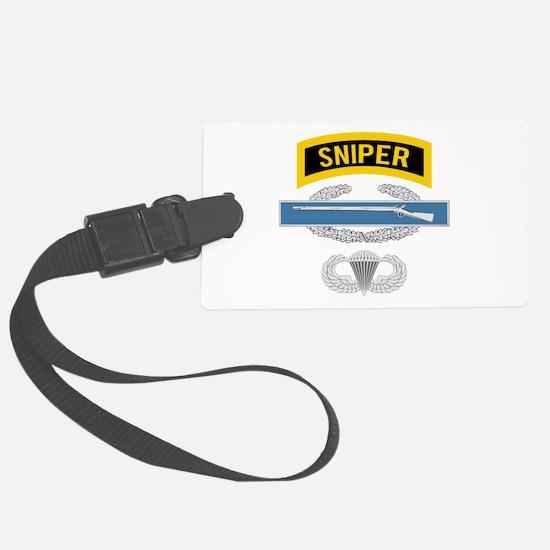 Sniper CIB Airborne Luggage Tag
