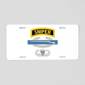 Sniper CIB Airborne Aluminum License Plate
