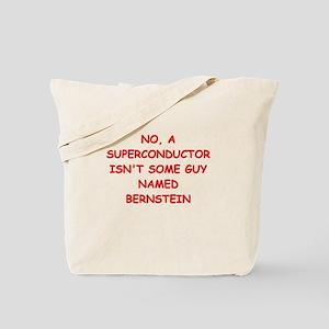 superconductor Tote Bag