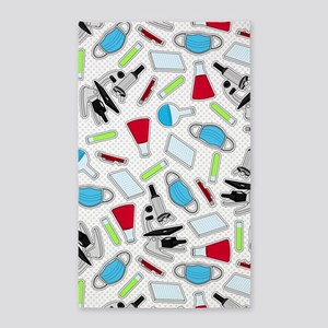 Cute Laboratory Pattern 3'x5' Area Rug