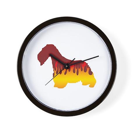 Cesky Flames Wall Clock