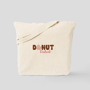 Donut Disturb Tote Bag