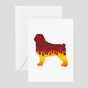 CAO Flames Greeting Cards (Pk of 10)