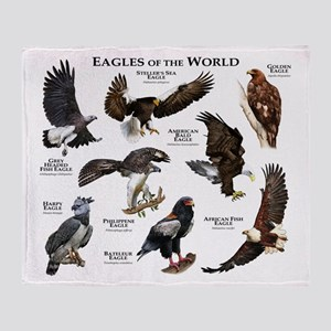 Eagles of the World Throw Blanket