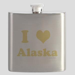 I love Alaska Flask