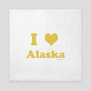 I love Alaska Queen Duvet
