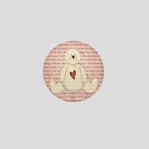 LOVEY BEAR Mini Button