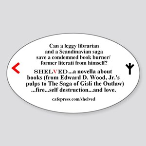 Shelved Promo Sticker
