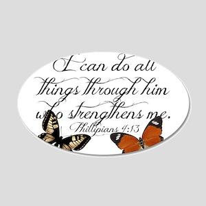 Phillipians 4:13 Wall Decal