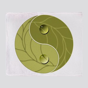 Yin Yang Nature Throw Blanket